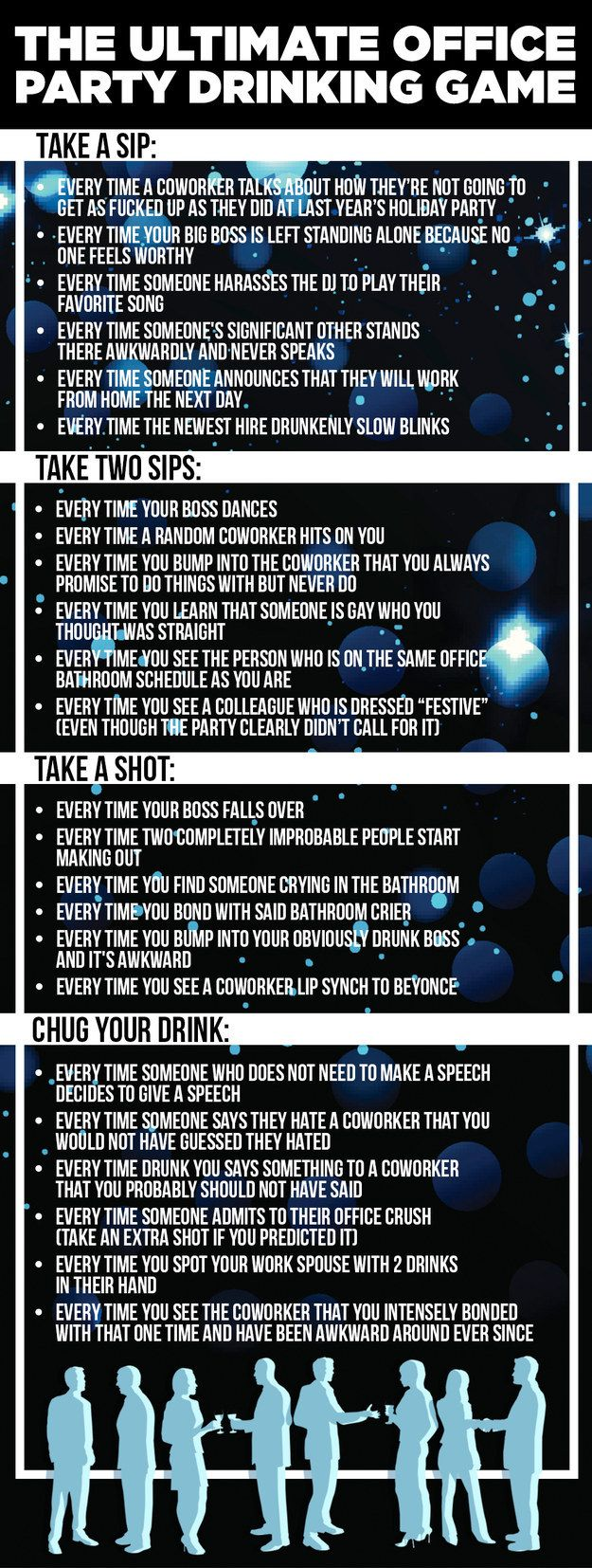 Game for coworkers - Here Is The Most Epic Office Party Drinking Game