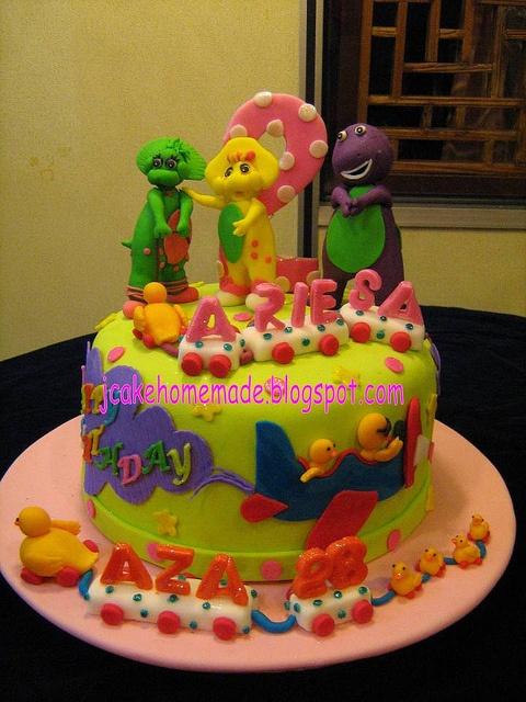 barney cake pops - photo #26