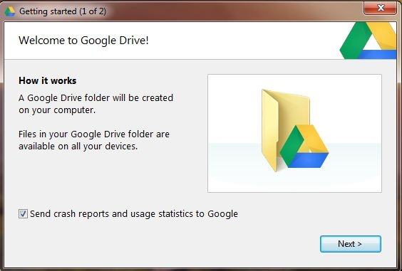 how to sync google drive desktop to online
