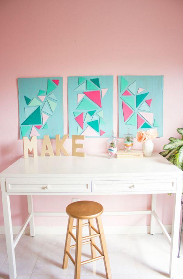 15 Diy Cardboard Wall Ideas To Beautify Your Room Home Design And Interior Dekorasi Dekorasi Kamar