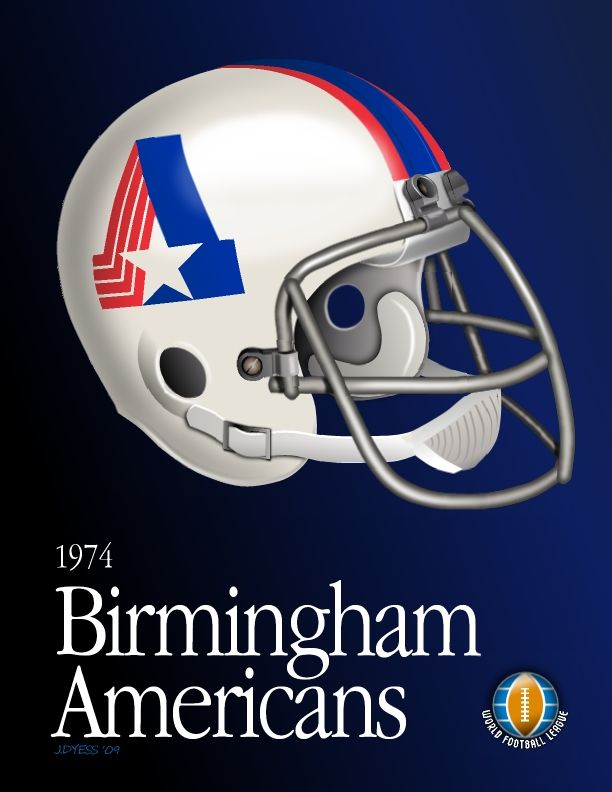 WFL Birmingham Americans by jadyess on deviantART