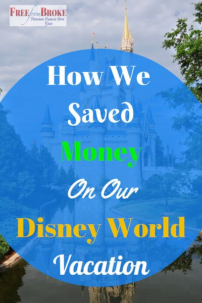 How one family saved money on their Walt Disney World vacation - some of these tips may work for your family as well.