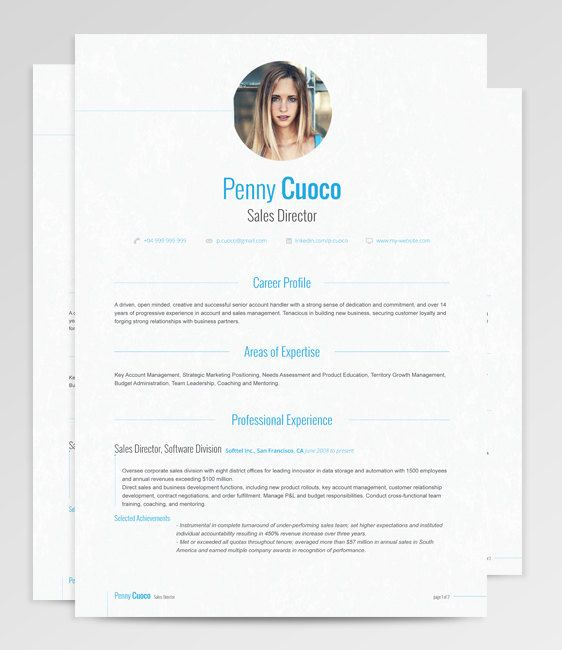 Subtle strokes and polished features make Gemini Resume a perfect choice for a more conservative, yet attentive to detail applicant. Each detail is decomposed to create a delicate and unobtrusive professional design while focusing on interest areas. Perfect for use when an image is of as much importance as the content.