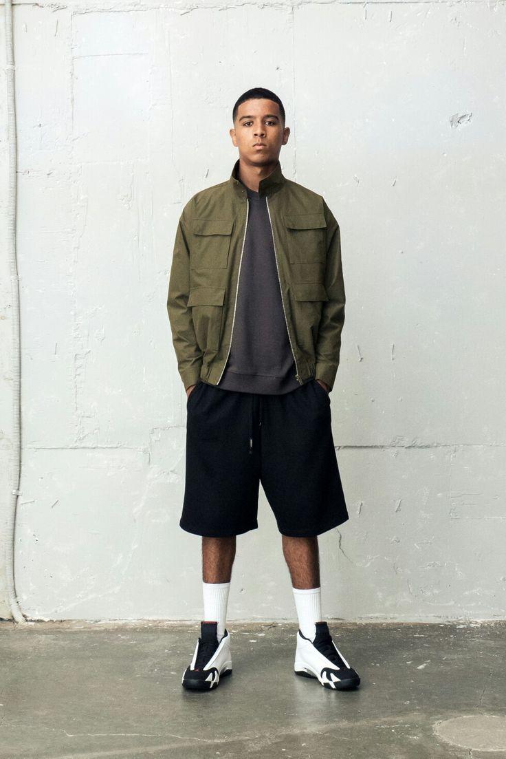 Berkhab field bomber jacket basketball fashion