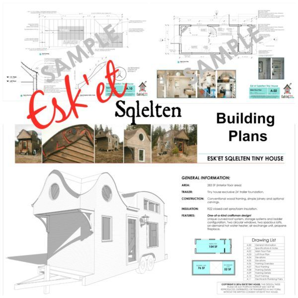 (Prices Shown are in Canadian Dollars - US Dollar price is roughly $212) Construction Plans: Trailer Framing, Elevation Drawings, Floorplan Drawings, Building Sections and Cross-Section Details, Roof Detail, Electrical Plan, Window and Door Sizes List of Equipment and Material Specifications...