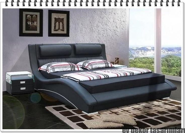 Modern Yatak Tasarımları 2017