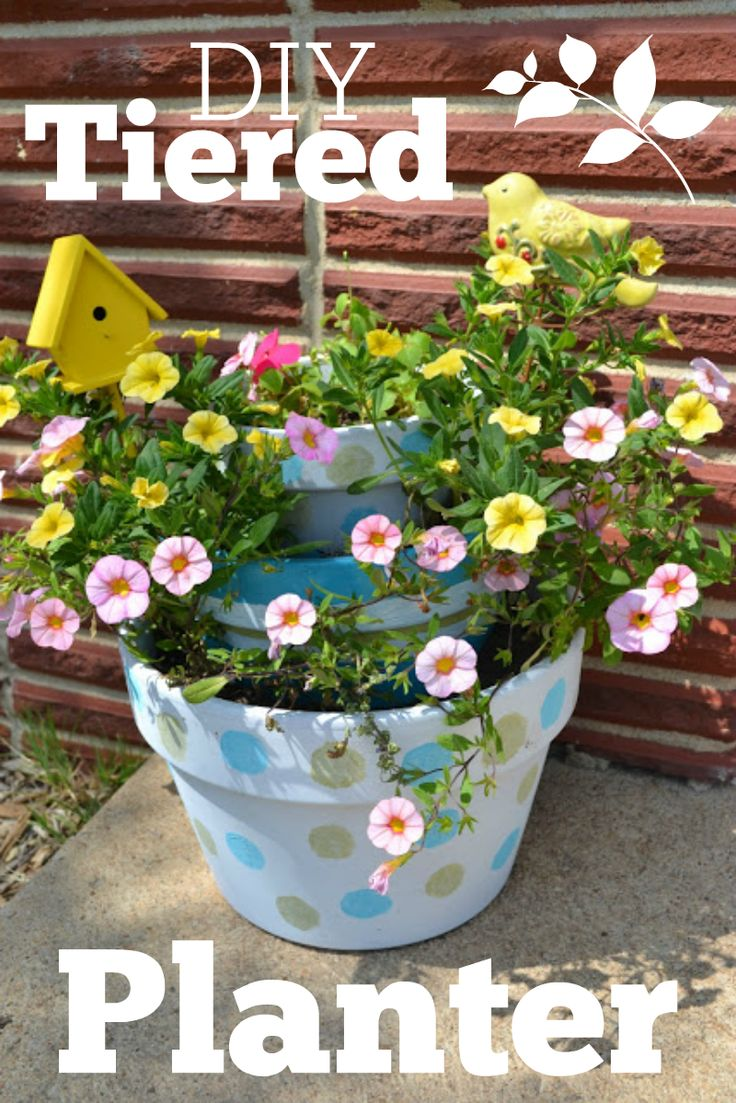 Diy Tiered Planter Tiered Planter Diy And Crafts And 400 x 300
