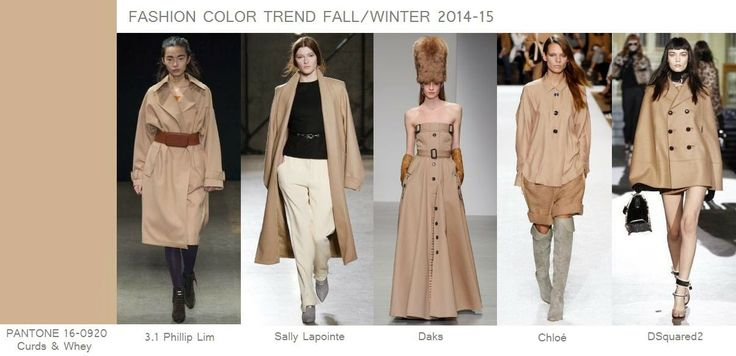 Fashion Color Trend Fall/Winter 2014-15: Curds & W...