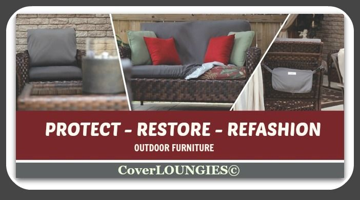 CHRISTMAS IS ON THE WAY!  CoverLoungies 2-in-1 waterproof slipcover and attached bag is a GREAT GIFT IDEA!  visit www.coverloungies.com