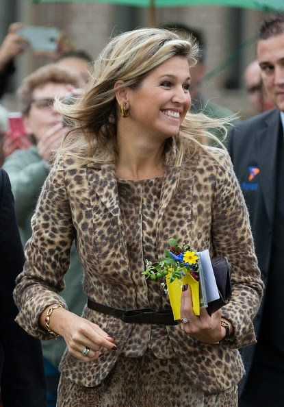 Queen Maxima of The Netherlands visits the social employment agency Breed, 07.10.2014 in Nijmegen The Netherlands.