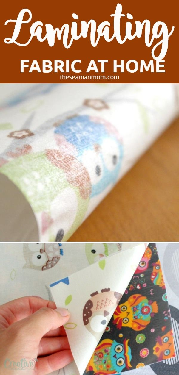 How To Laminate Cotton Fabric At Home In 2020 Diy Sewing Pattern Laminated Cotton Fabric Diy Sewing Projects