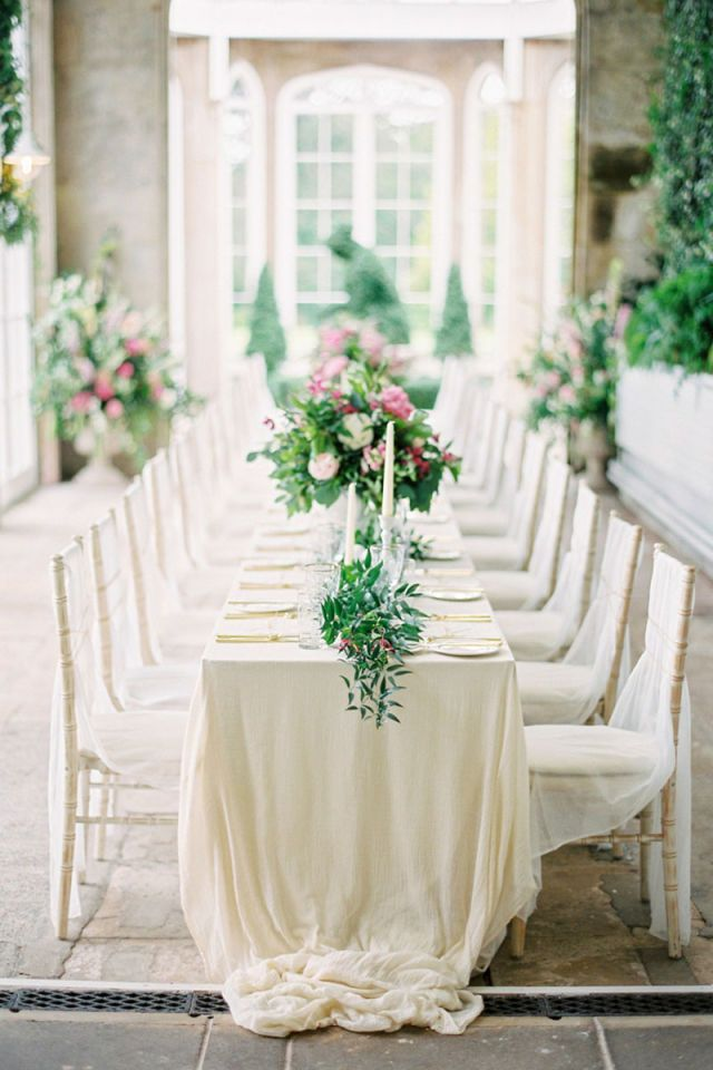 With neutral hues and soft styles, classy tablescapes are an eternal favorite.   - HarpersBAZAAR.com