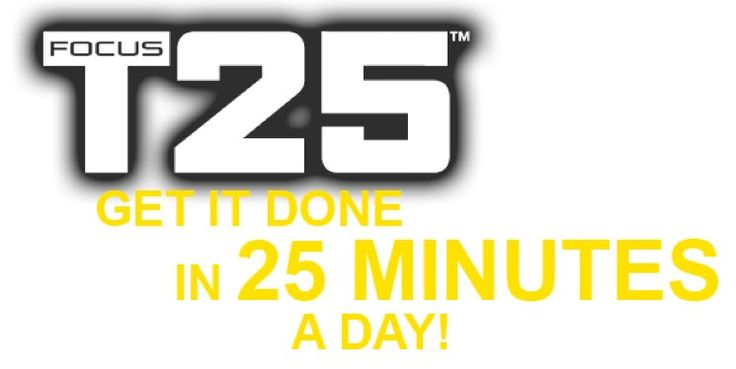 Focus T25 Challenge Pack - Shakeology, Fitness, Shaun T all in just 25 Minutes a day!
