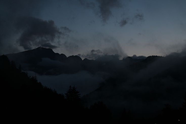 Mountains in the darkness | Piazzatorre, Val Brambana, Orobie Alps