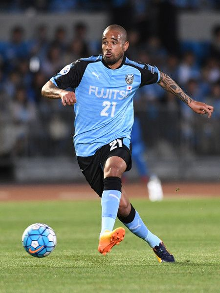 Eduardo Neto of Kawasaki Frontale in action during the AFC Champions League Group G match between Kawasaki Frontale and Eastern SC at Kawasaki Todoroki Stadium on May 9, 2017 in Kawasaki, Japan.