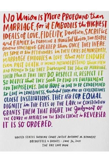 Love Wins - Equality Wedding Card