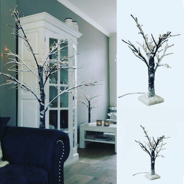 Arbol de ramas led con efecto nevado The Welly Home
