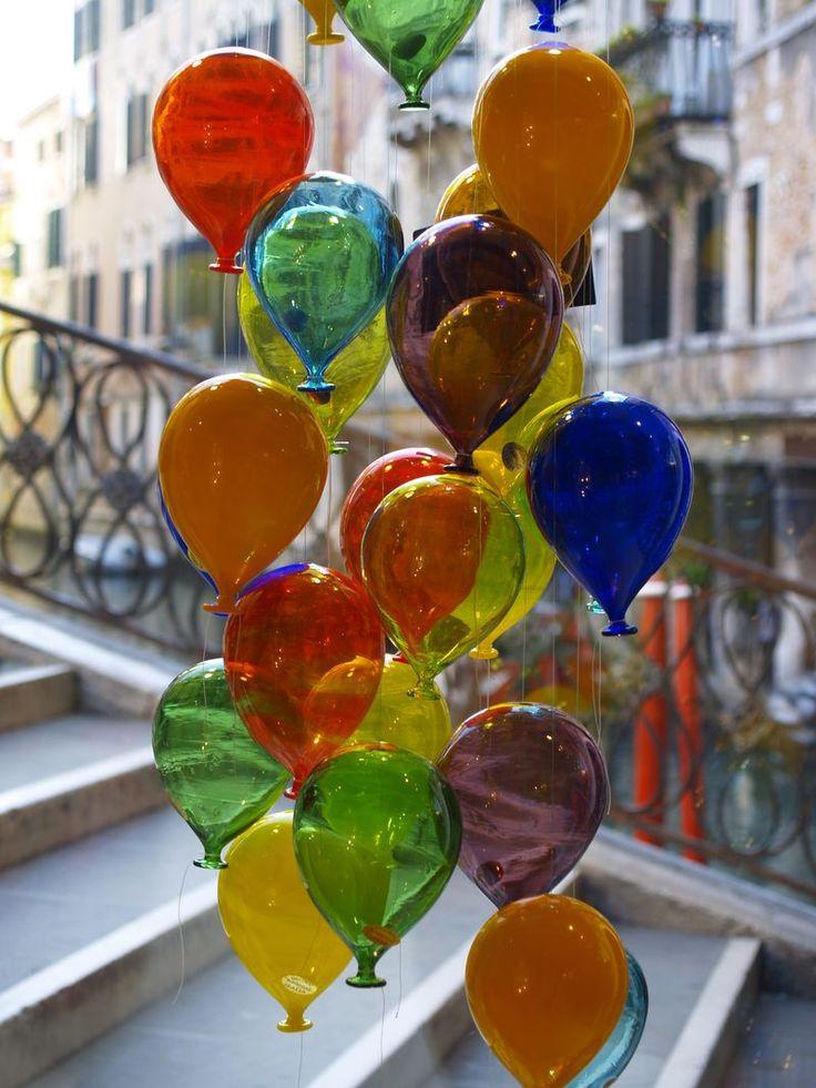 Ballon en verre de Murano #MURANOloves