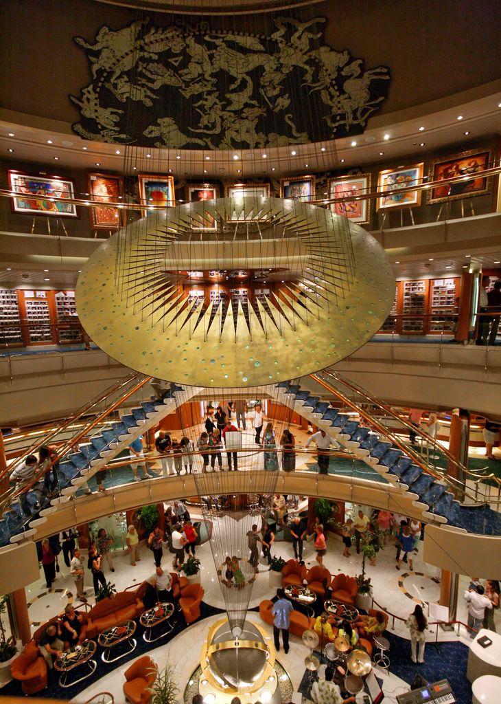 гастрономический тур на Splendour of the Seas