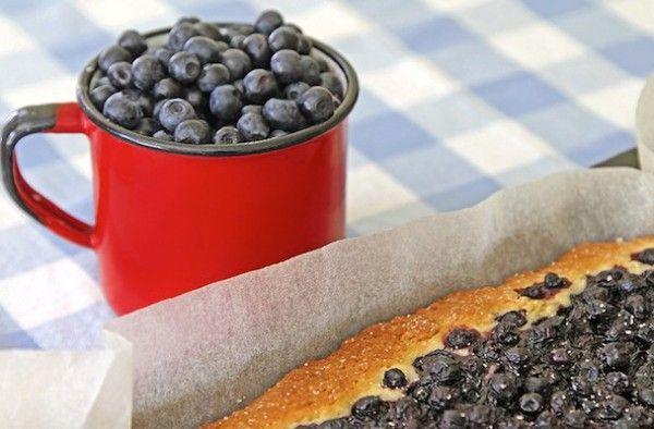 Mustikka Piirakka  / Tarte aux baies (myrtilles, airelles) - Berries pies (cranberries, lingenberries)
