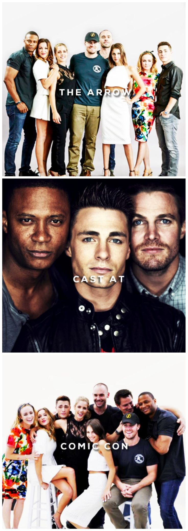 Arrow cast #SDCC ♥