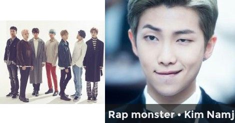 Rap monster • Kim Namjoon | Which BTS member's ideal girlfriend would you be ?