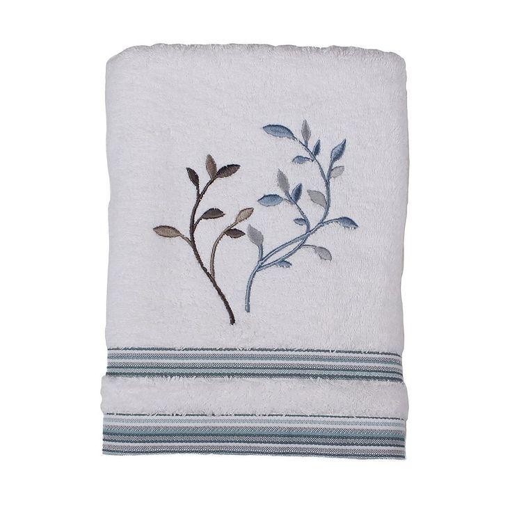 Saturday Knight, Ltd. Passell Terry Bath Towel, White