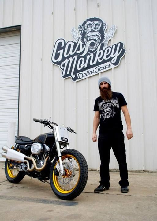 Harley Davidson XR750 Sportster given the Street Tracker treatment by Gas Monkey Garage