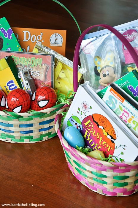110 best diy easter images on pinterest easter recipes easter skip overflowing your easter baskets with only candy instead mix in some fun easter basket ideaseaster negle Choice Image