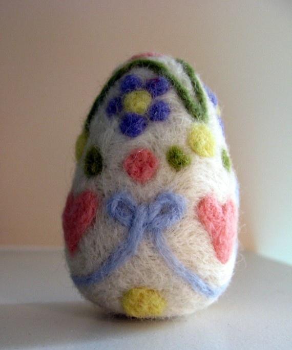 Needle Felted Easter Egg