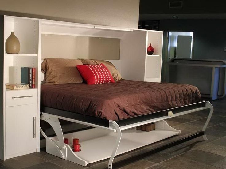 12 best murphy bed images on pinterest desk bed bedroom Bedroom office combo furniture