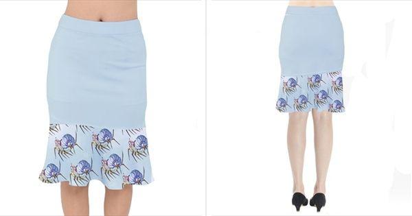 Short Mermaid Skirt