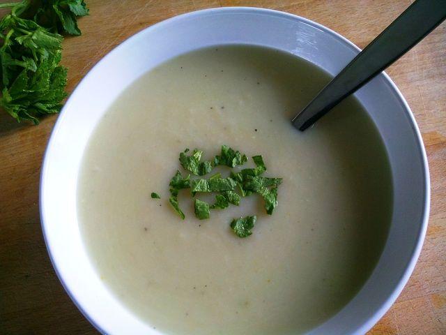 Celeriac Soup Recipe: Turkish celeriac soup is creamy and mild with an earthy flavor and fragrant celery aroma