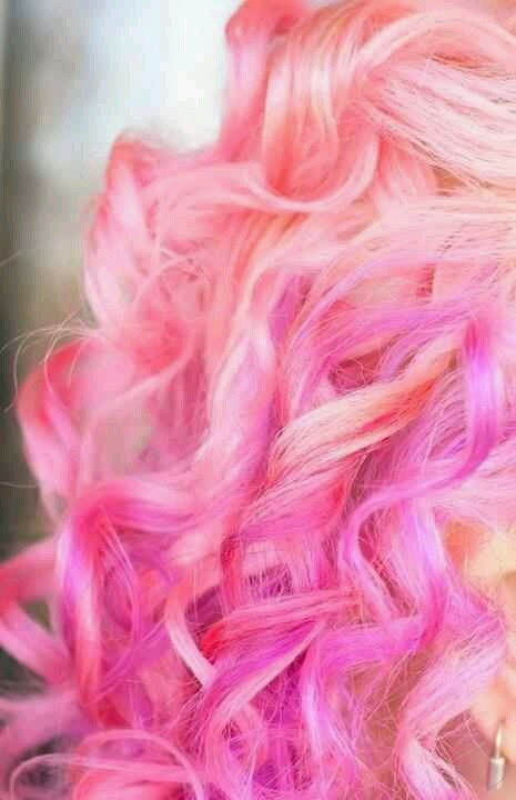 Pretty in Pink with purple highlights!