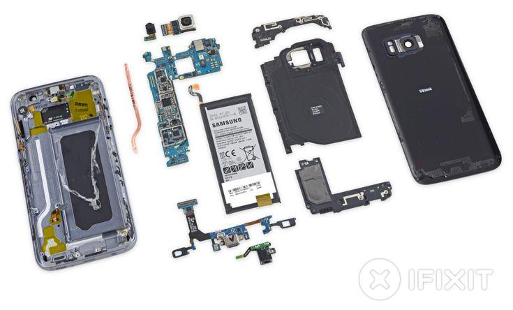 iFixit pulls apart Samsung's new Galaxy S7