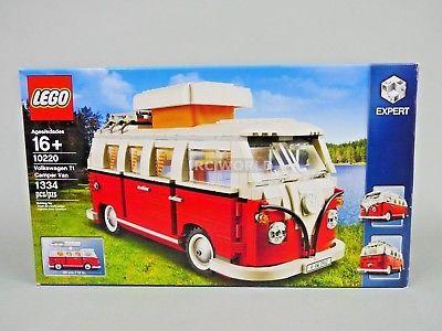 LEGO 1962 VOLKSWAGON T1 CAMPER VW VAN 10220 (1334 PCS) oobt