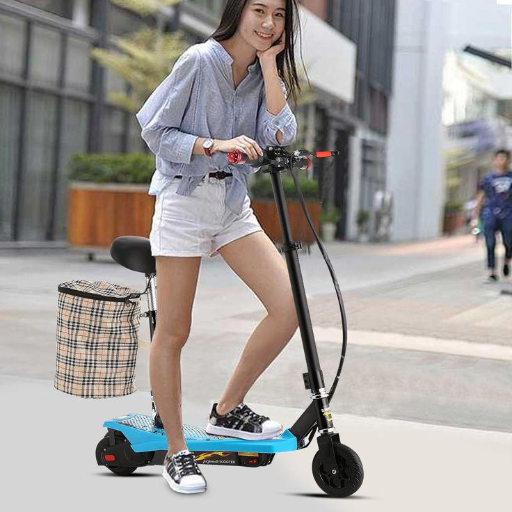 Top 10 Best Electric Scooters with Seat for Adults in 2017