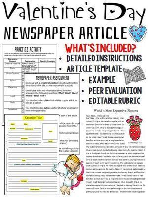Cele Mai Bune  De Idei Despre Newspaper Article Template Pe