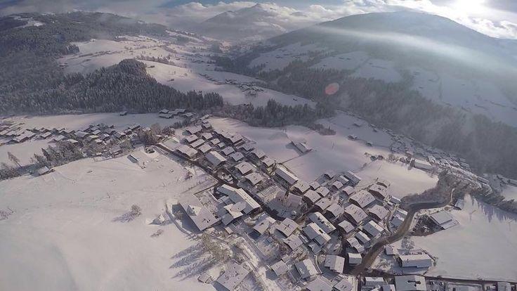 Alpbach, Austria...Aerial View