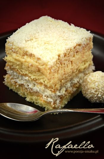 Ciasto Rafaello (Rafaello Cake - recipe in Polish)