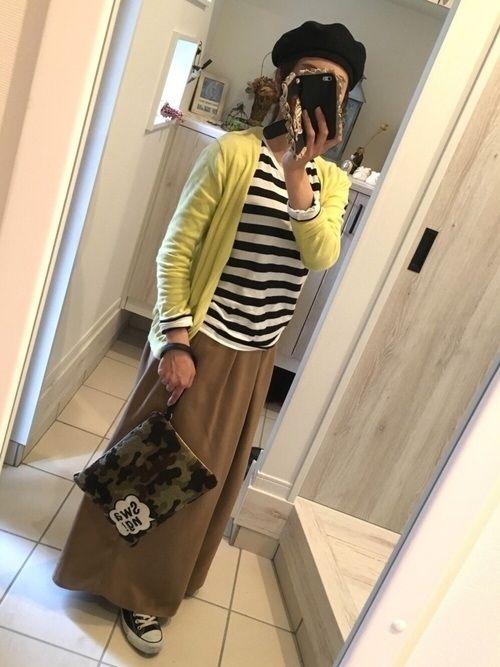 様々なお出かけシーンに対応できる!無印良品の長袖ボーダーTシャツコーデが魅力的☆ - Yahoo! BEAUTY