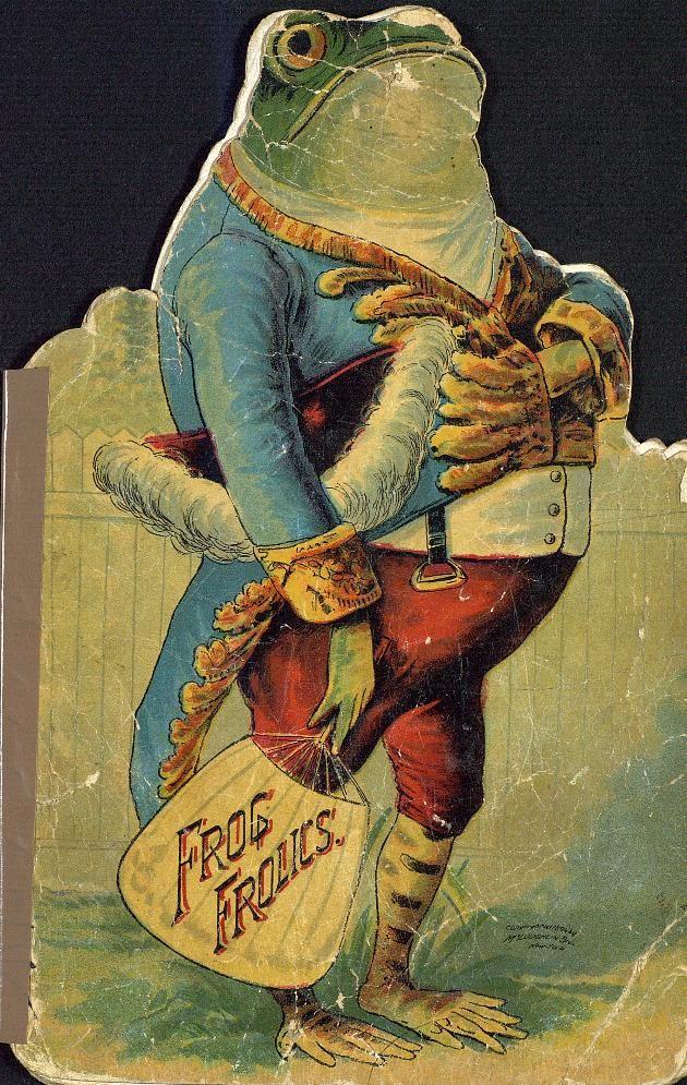 """Frog Frolics"" (1894) McLoughlin Brothers Publishers"