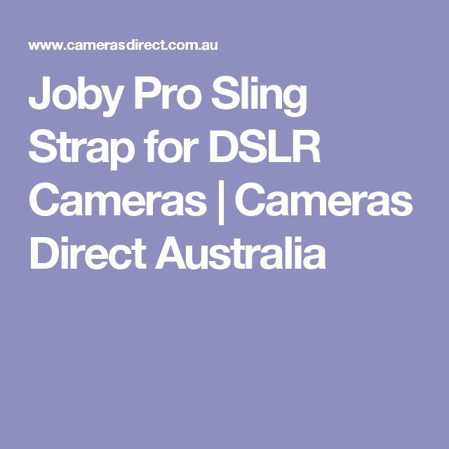Joby Pro Sling Strap for DSLR Cameras   Cameras Direct Australia
