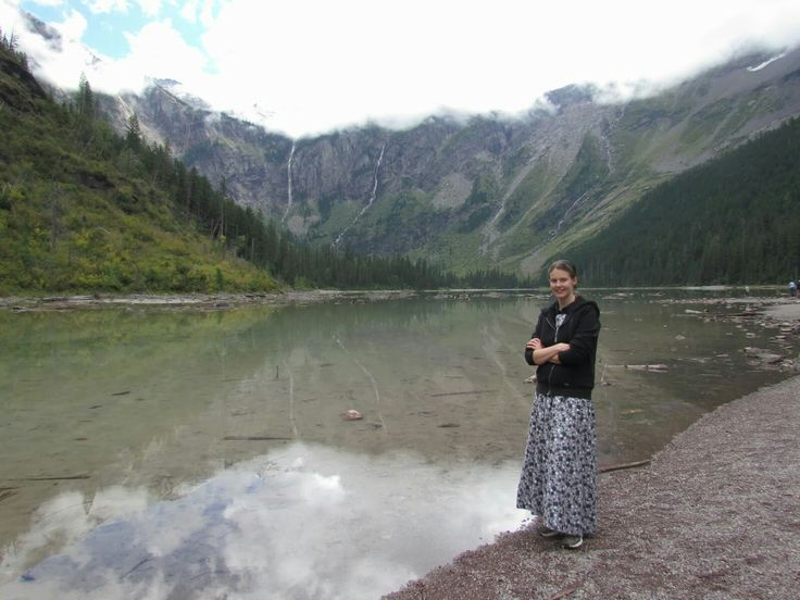 Went to Glacier with some friends and hiked to this lake, I was pregnant with Ethan.