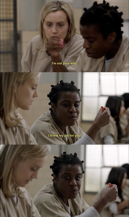 Orange is the New Black Love this show! Addicted  ***So it begins.  This is the fist pin for this show I've seen.  Love this show!