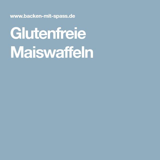 Glutenfreie Maiswaffeln