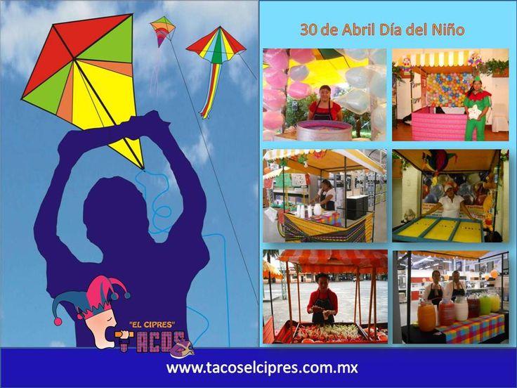 Hagamos de Cada Niño una Bendicion para vel Mundo. Juagando con ellos   www.tacoselcipres.com.mx