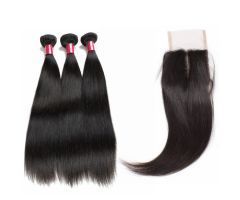 mink hair virgin indian human hair lace closure | Hairinbeauty