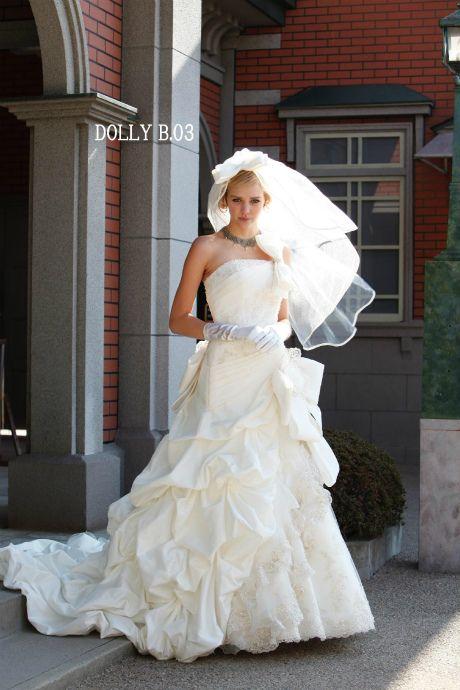 ウェディングドレス DollyB 03|ウェディングドレスのレンタルなら大阪ピノエローザへ