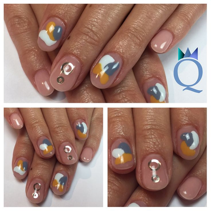 #shortnails #gelnails #nails #nude #gold #ring #iceblue #grey #yellow #nailart #kurzenägel #gelnägel #nägel #natürlich #goldring #iceblau #grau #gelb #nagelkunst #nagelstudio #möhlin #nailqueen_janine